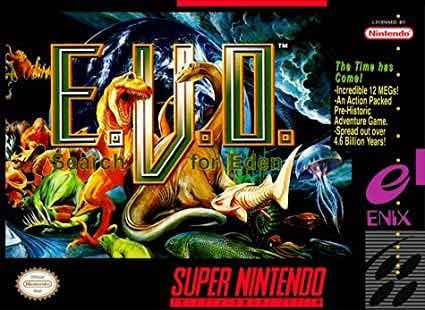 SNES EVO Search For Eden