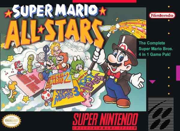 Super Mario All Stars SNES