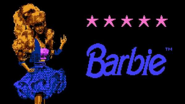Barbie - Worst NES Games Of All Time