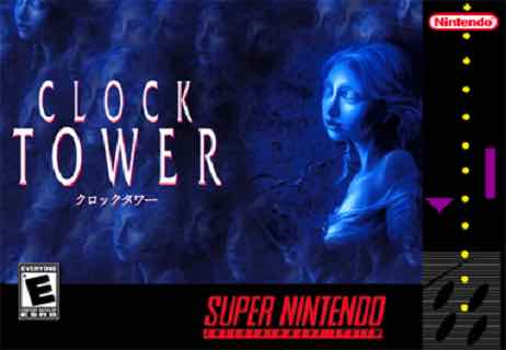 Clock Tower - SNES Horror Games