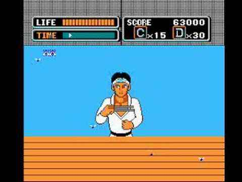The Karate Kid - Worst NES Game