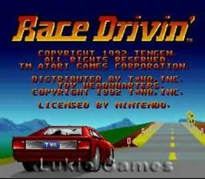 Race Drivin SNES