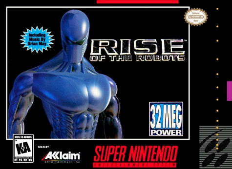 Rise of the Robots SNES