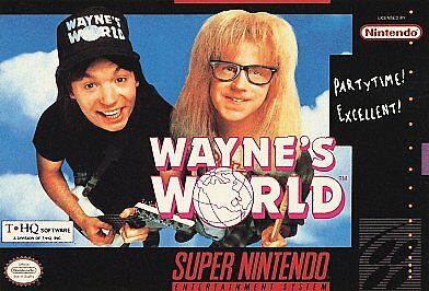 Wayne's World - One of the Worst SNES Games of all time