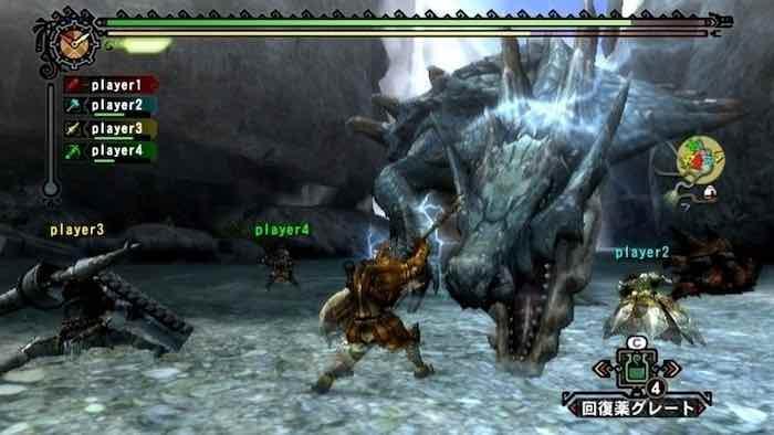 4. Monster Hunter Tri